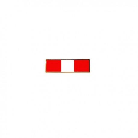 Barrette rouge & blanche