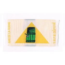 Badge ami de la ferme (louveteau)