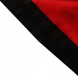 Foulard Rouge - Noir