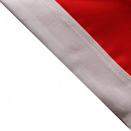 Foulard Rouge - Blanc
