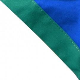 Foulard Bleu Roy - Vert vif