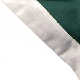 Foulard Vert foncé - Blanc