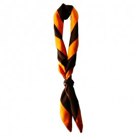 Foulard Brun - Orange