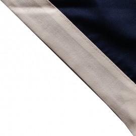 Foulard Marine - Blanc