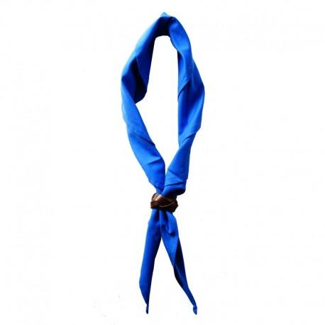 Foulard Bleu Roy Uni