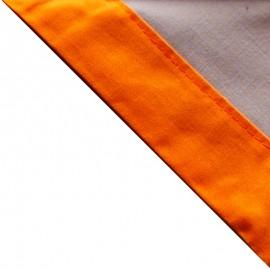 Foulard Gris - Orange