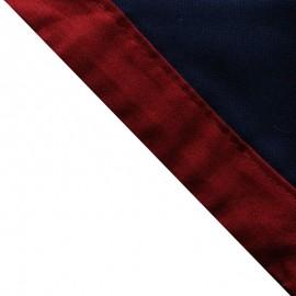Foulard Marine - Bordeaux
