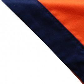 Foulard Orange - Marine