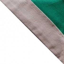 Foulard Vert vif - Gris