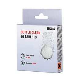 Bottle clean 20 tablettes SIGG