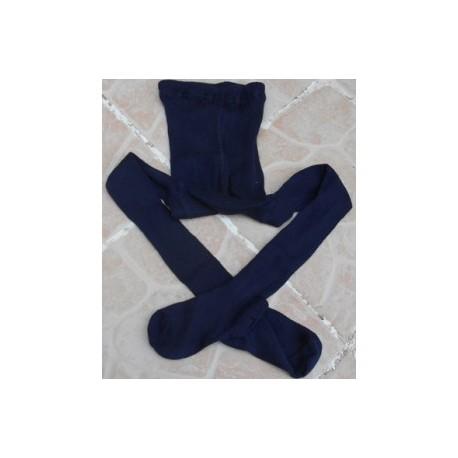 Collant bleu marine 122/128