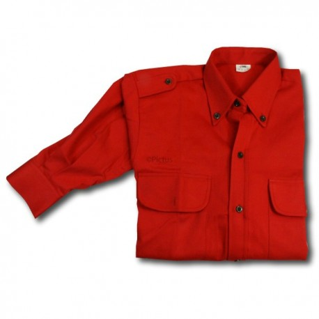Chemise Rouge Pionniers