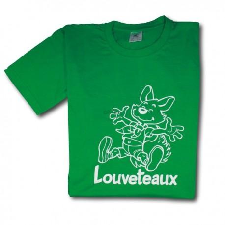 T-Shirt VERT - Louveteaux (Enfants)