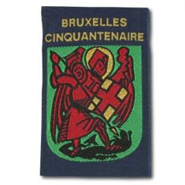 Ecusson Bruxelles Cinquantenaire