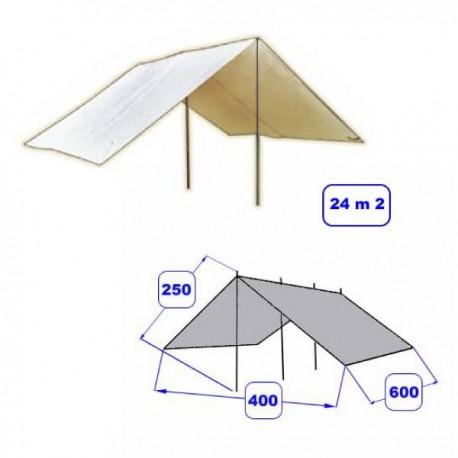 T007 - Abri Alpino - 4x6m - Blanc