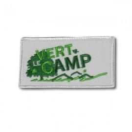 Ecusson Vert le Camp