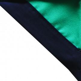 Foulard Vert cair - Marine