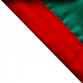 Foulard Vert vif - Rouge