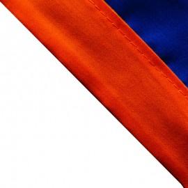 Foulard Bleu Roy - Orange