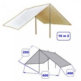 T005 - Abri Alpino - 4x4m - Blanc